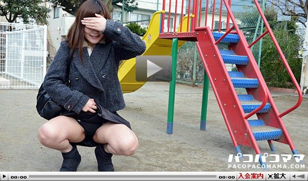 Eカップの若妻といろんな場所で激しくヤる サンプル動画